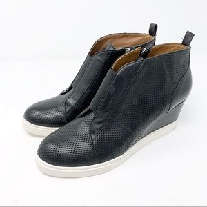 LINEA PAOLO Felicia Platform Wedge Bootie Sneaker
